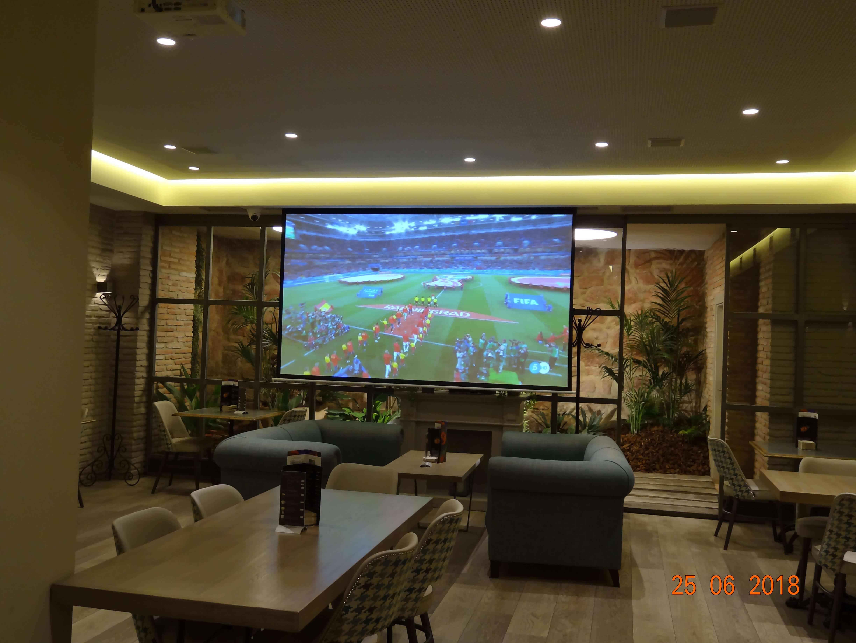 Sala El Palmeral con proyector