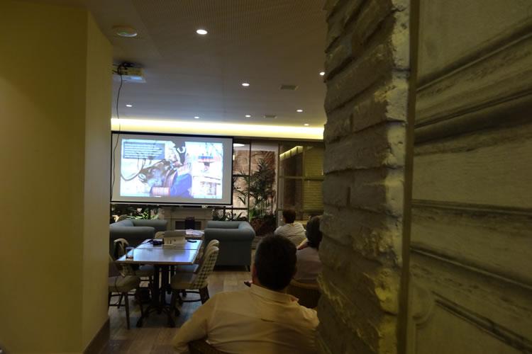Evento corporativo Restaurante Palmeral